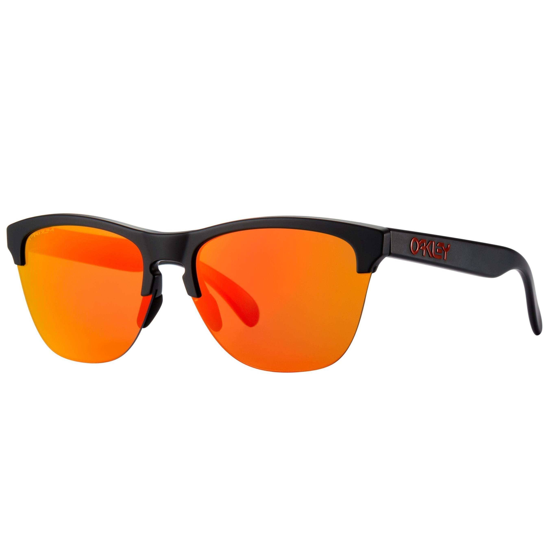 Купить Очки солнцезащитные Oakley 2018 FROGSKINS LITE MATTE BLACK /PRIZM RUBY, Оптика, защита, 1412240