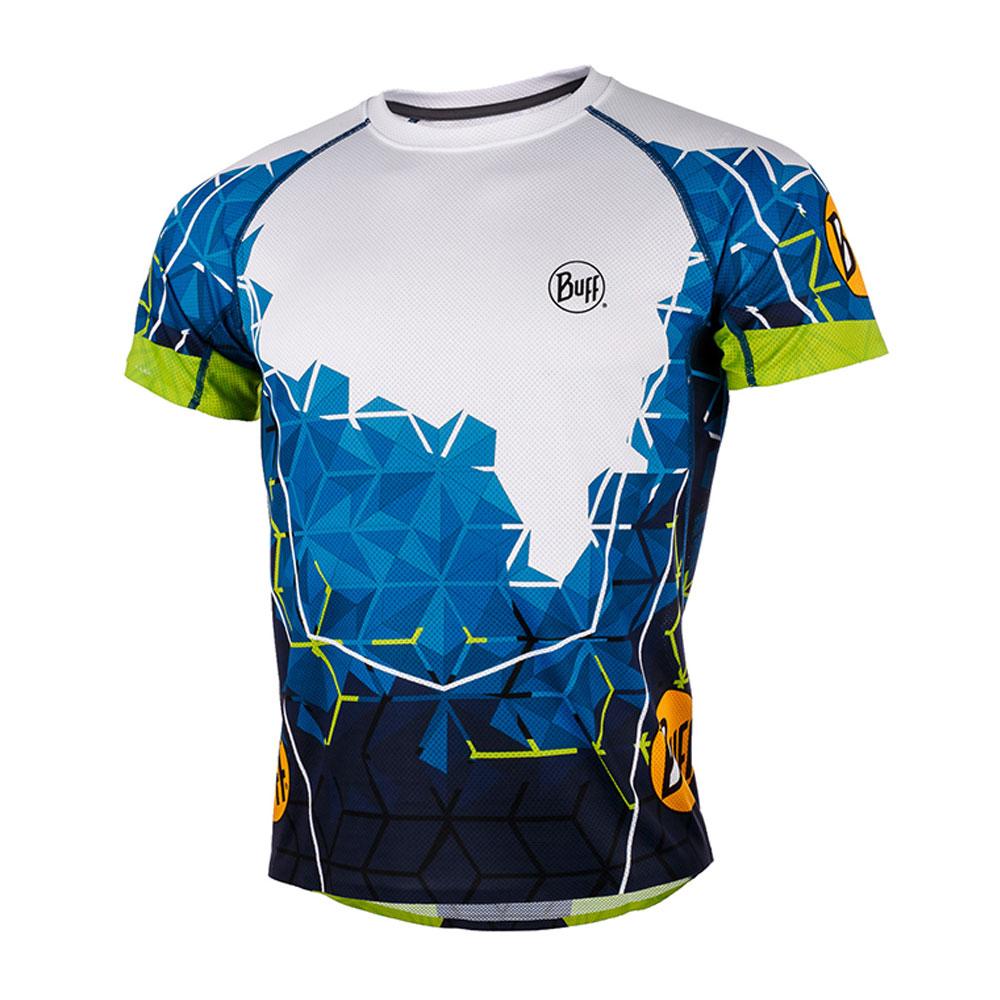 Футболка беговая BUFF URBI S/SL T-SHIRT OCEAN BLUE Банданы и шарфы Buff ® 1338324  - купить со скидкой
