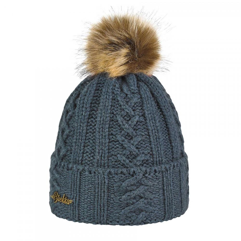 женская шапка brekka