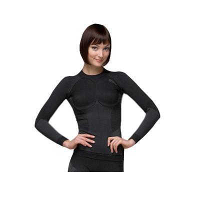 Купить Emphasis Emphasis Long Sl. T-Shirt Lady, Футболка С Дл. Рукавом Accapi Emphasis Long Sl. T-Shirt Lady Black, женский, Термобелье
