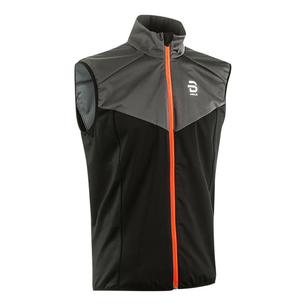Жилет Беговой Bjorn Daehlie 2017-18 Vest Athlete Black, мужской, Одежда для бега и фитнеса  - купить со скидкой