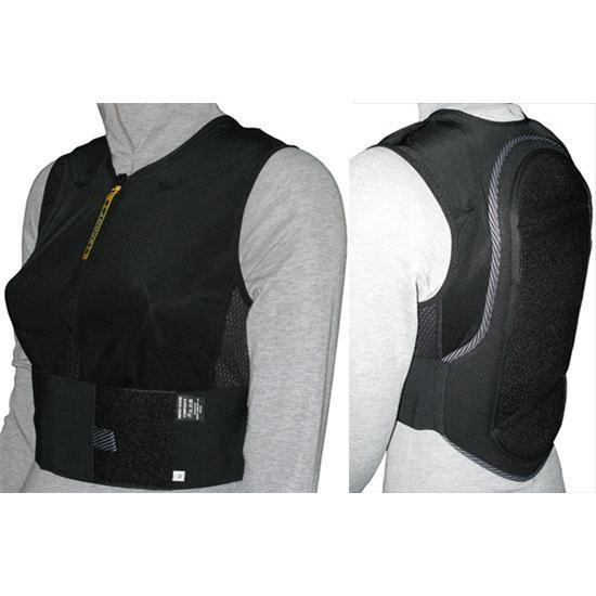 Купить Защитный жилет BIONT Жилет с защитой спины (БИОНТ) (XS) Kids Черный Защита 1048049