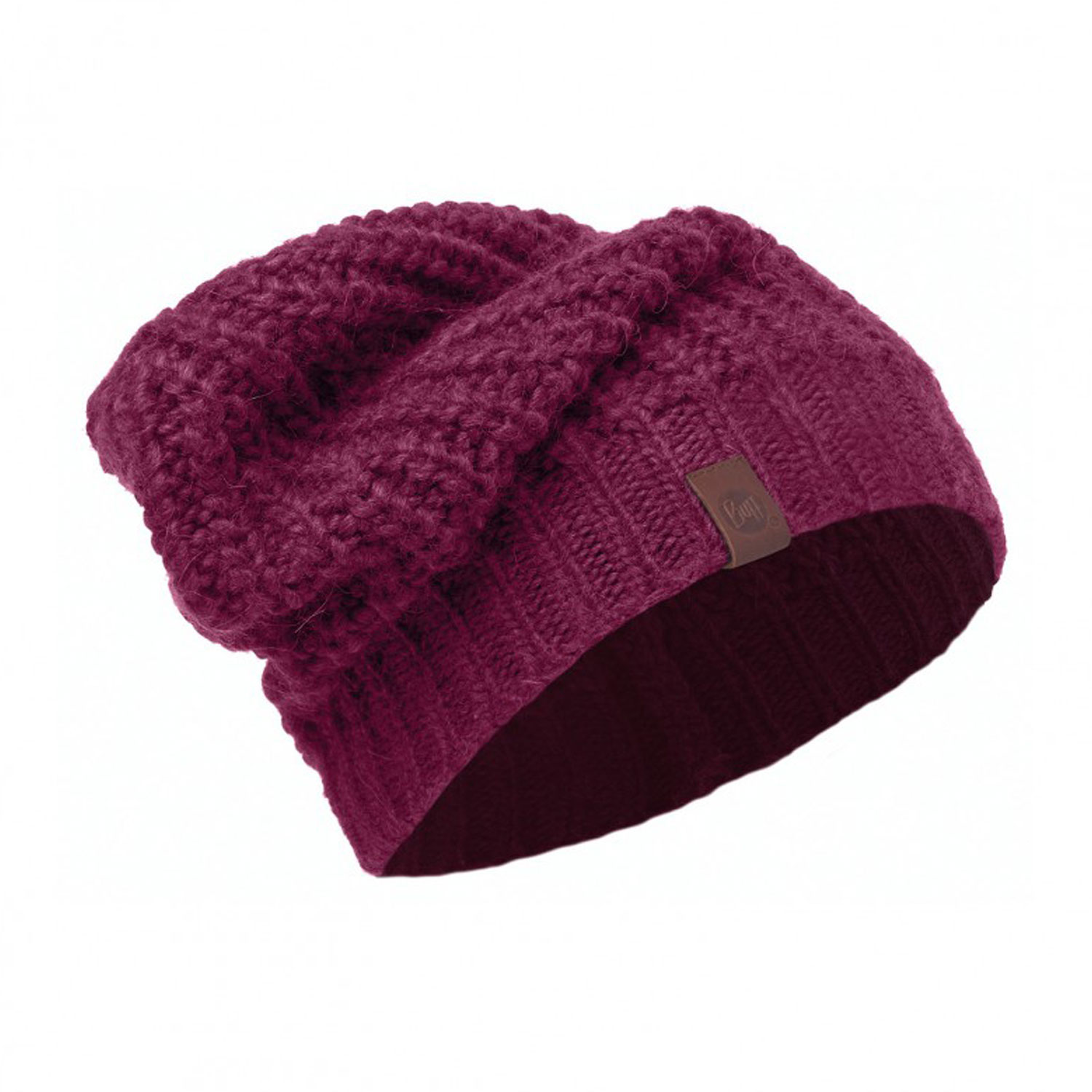 Шапка Buff Knitted Hat Gribling Red Plum