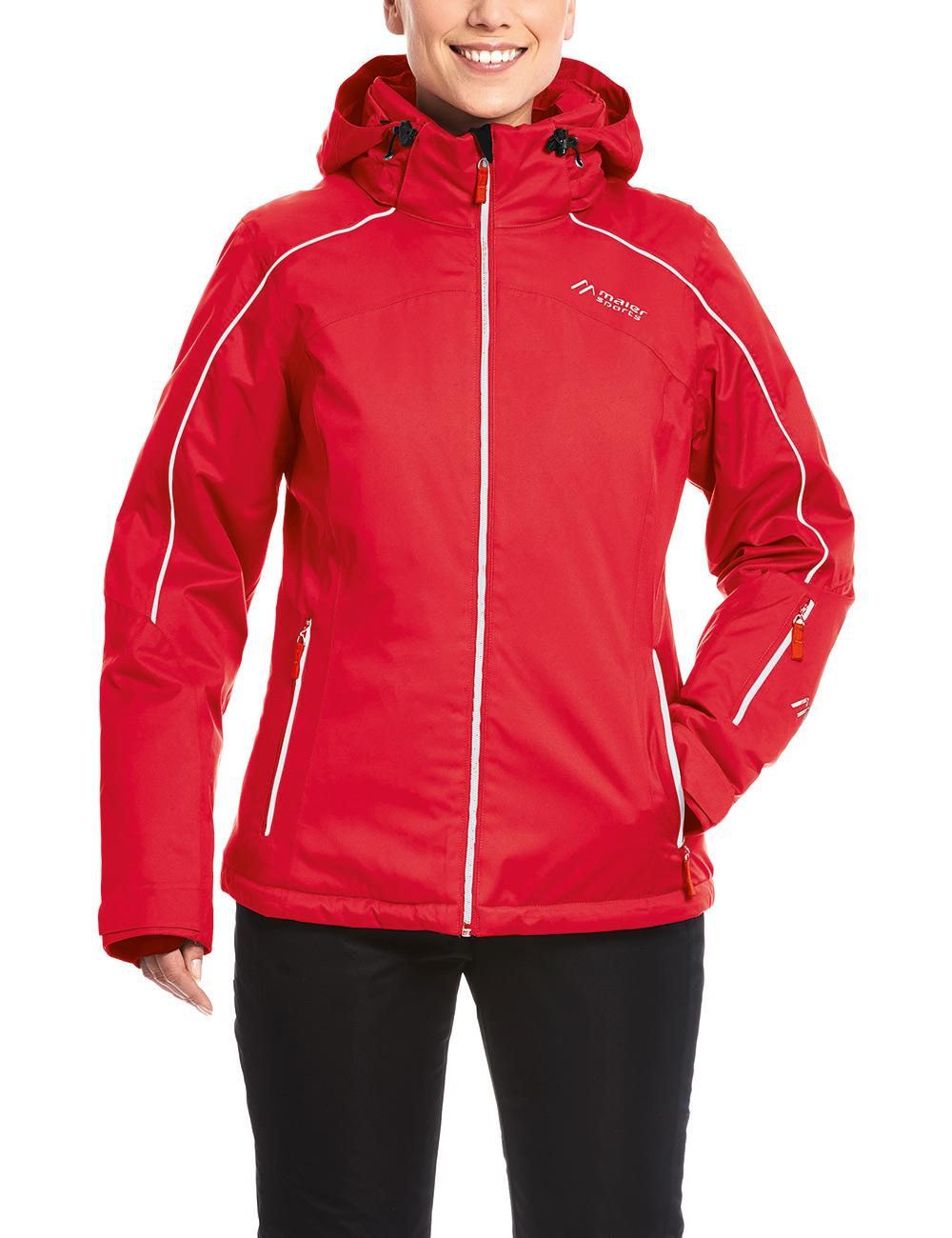 Купить Куртка горнолыжная MAIER 2017-18 Berguen W chinese red Одежда 1346995