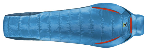 Спальник Salewa Trekking Ecoloft Spirit -2 XL left polar blue