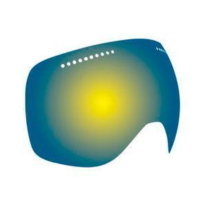 Купить Запасные линзы DRAGON D1 rpl lens Yellow-blue Ionized Очки горнолыжные 910676