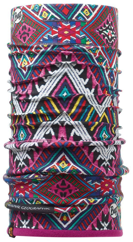 Бандана BUFF NATIONAL GEOGRAPHIC POLAR HUIPIL/MARDI GRAPE Банданы и шарфы Buff ® 1168999  - купить со скидкой