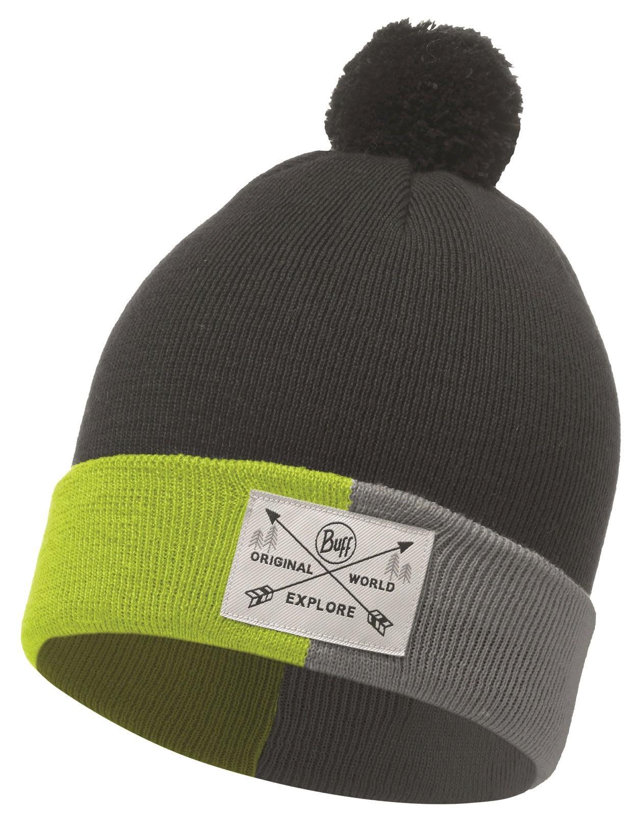 Шапка Buff Jr Knitted Hat Kelda Grey