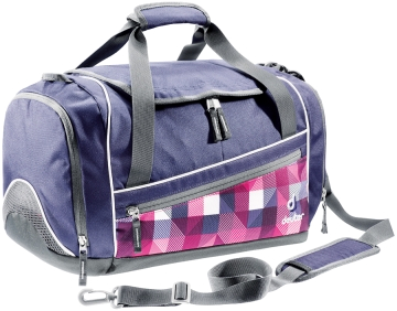 Сумка-баул Deuter 2015 School Hopper magenta arrowcheck /