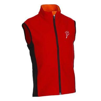 Купить Жилет беговой Bjorn Daehlie Vest WARM UP Junior (Formula One/Black) красный/черный, Одежда лыжная, 710398