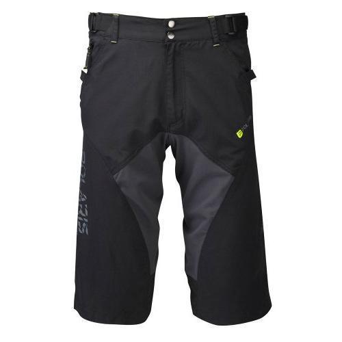 Купить Велошорты Polaris AM 500 REPEL Black/Graphite/Lime Велоодежда 915379