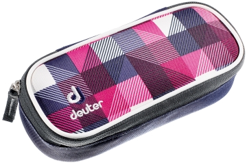 Пенал Deuter 2015 School Pencil Case magenta arrowcheck