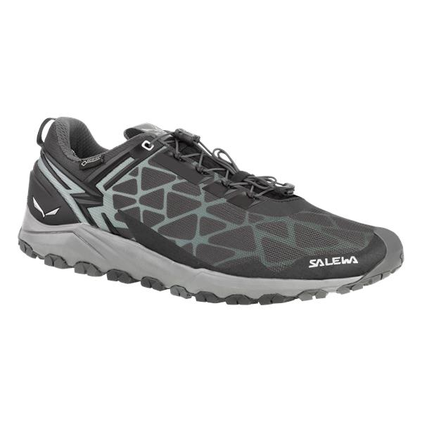Треккинговые кроссовки Salewa 2017 WS MULTI TRACK GTX Black/Silver, Треккинговая обувь, 1330045  - купить со скидкой