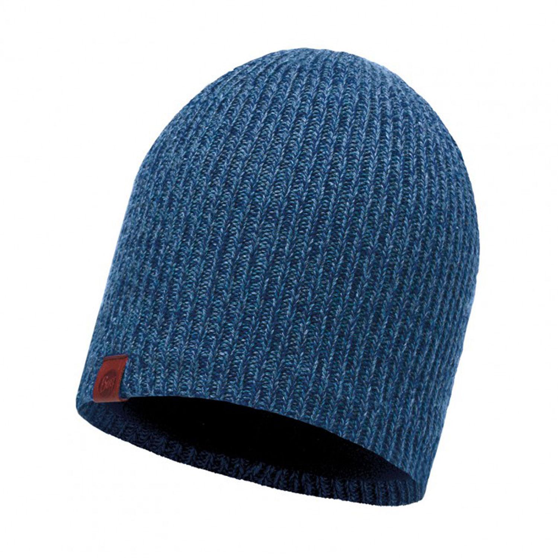 Шапка Buff Knitted & Polar Hat Lyne Mazarine Blue