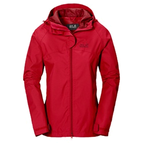 Куртка для активного отдыха Jack Wolfskin 2015 Arroyo Jacket Women red fire