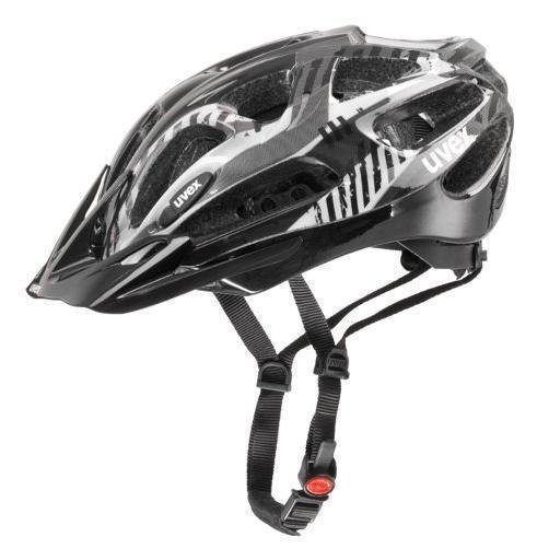 Купить Летний шлем UVEX Supersonic black-white (черно-белый), Шлемы велосипедные, 908141
