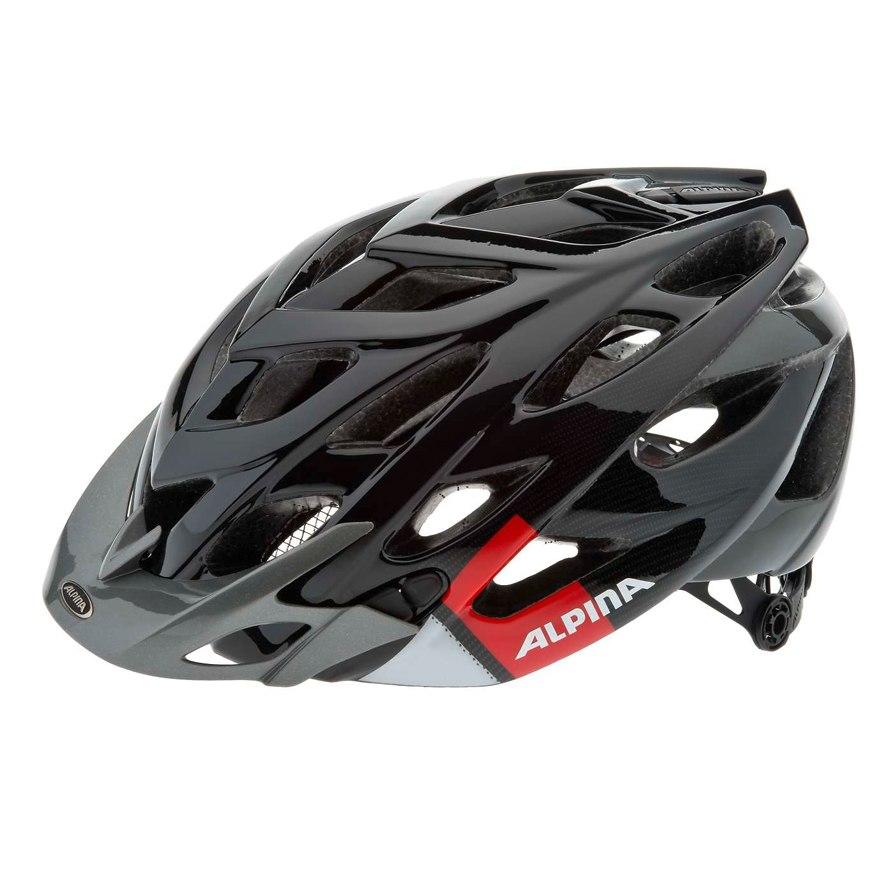 Летний шлем Alpina MTB D-Alto black-red-white, Шлемы велосипедные, 1179897  - купить со скидкой