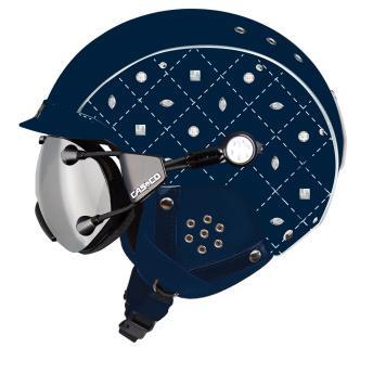 Купить Зимний Шлем Casco SP-3 LIMITED CRYSTAL MARINE Шлемы для горных лыж/сноубордов 1119874