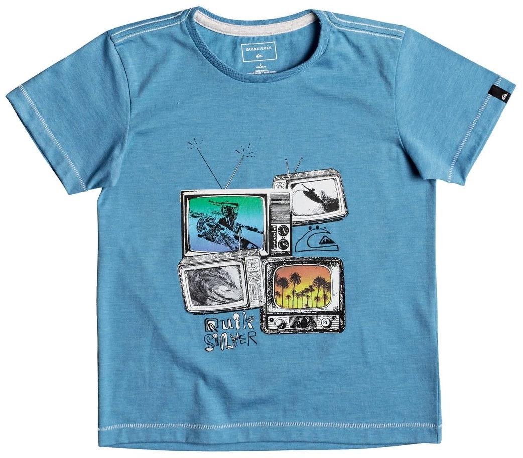 футболка quiksilver для мальчика