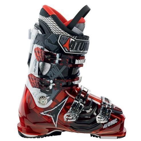 Купить Горнолыжные ботинки ATOMIC 2012-13 HAWX 120 RED TRANSPARENT/BLA, Ботинки горнoлыжные, 812589