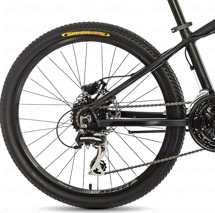 Велосипед Aspect Air Jr 2018 Черный