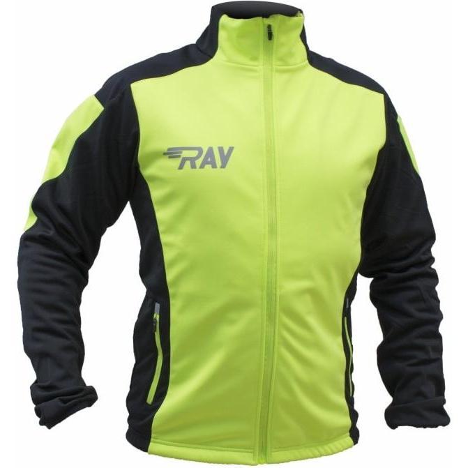 Куртка Беговая Ray 2018-19 Pro Race Лимонный/черный