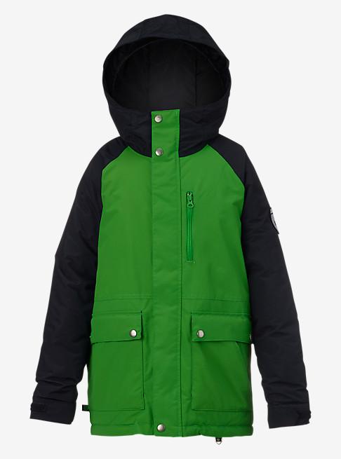куртка burton для мальчика, черная