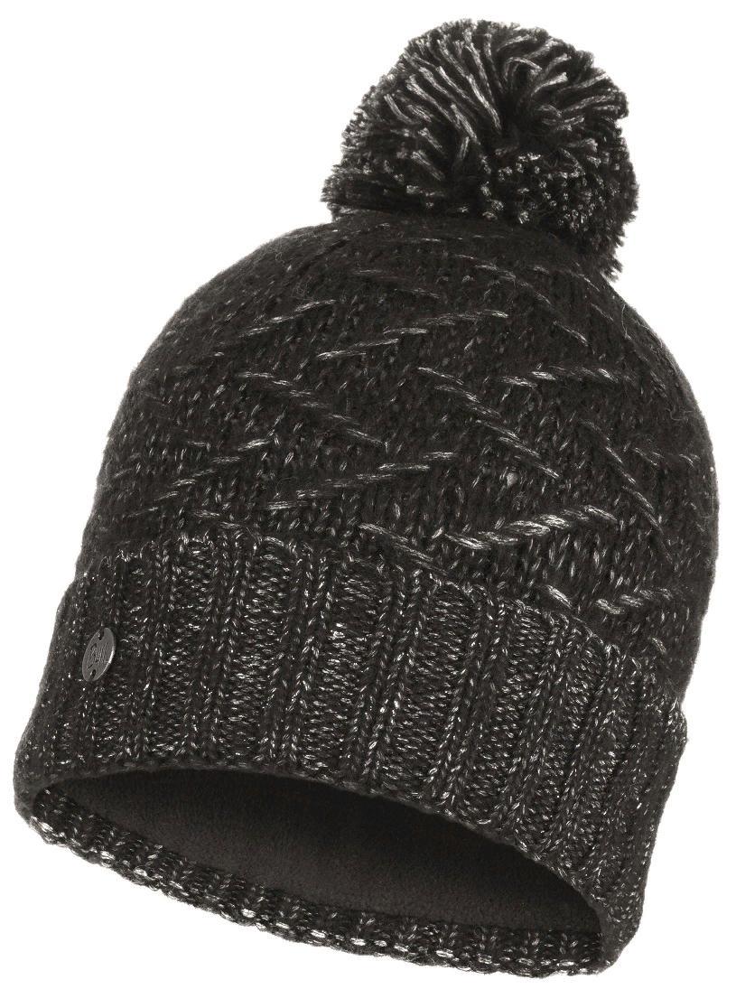 Шапка Buff Knitted & Polar Hat Ebba Black