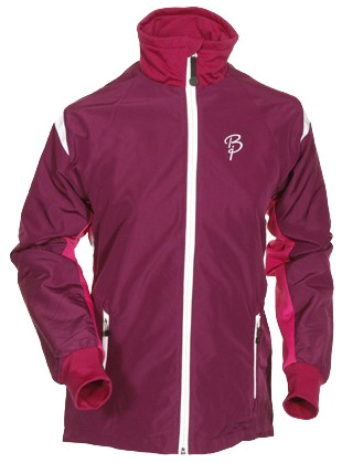 Купить Куртка беговая Bjorn Daehlie Jacket FIGHTER Women (Dark Purpe/Festival Fuchsia/Silver) фиолетовый/малиновый Одежда для бега и фитнеса 648120