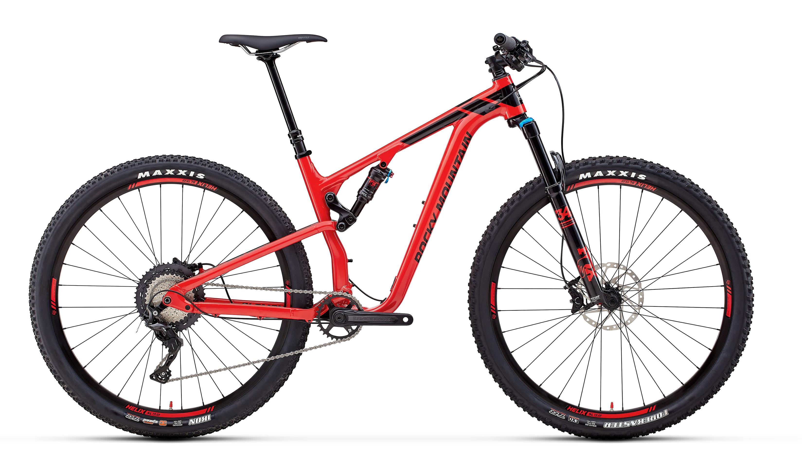 Велосипед Rocky Mountain Element Alloy 50 2018 Black/red
