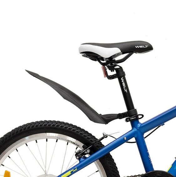 Велосипед Welt 2018 Peak 20 Matt Blue/acid Green