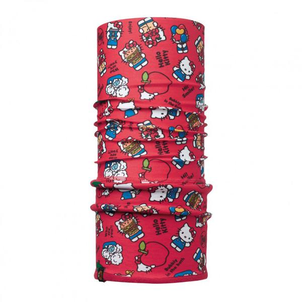 Купить Бандана BUFF Licenses HELLO KITTY JR POLAR FOODIE RED / SAMBA, Детская одежда, 1263962