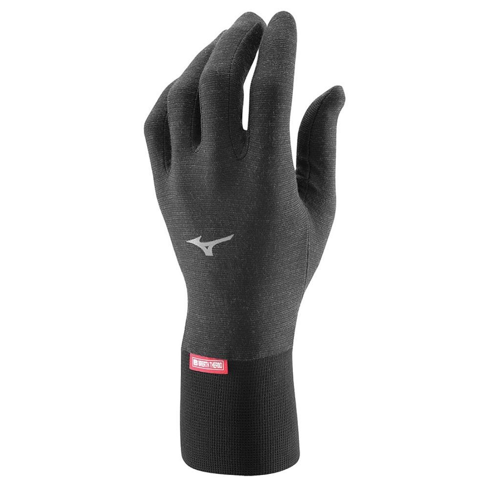 мужские перчатки mizuno, черные