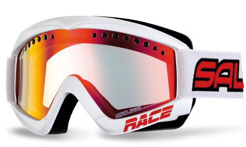 Очки горнолыжные Salice 969DARWFV White-Red/RW Clear
