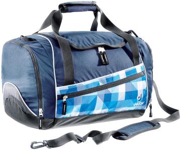 Купить Сумка на плечо Deuter 2015 School Hopper blue arrowcheck Сумки дорожные 1073138