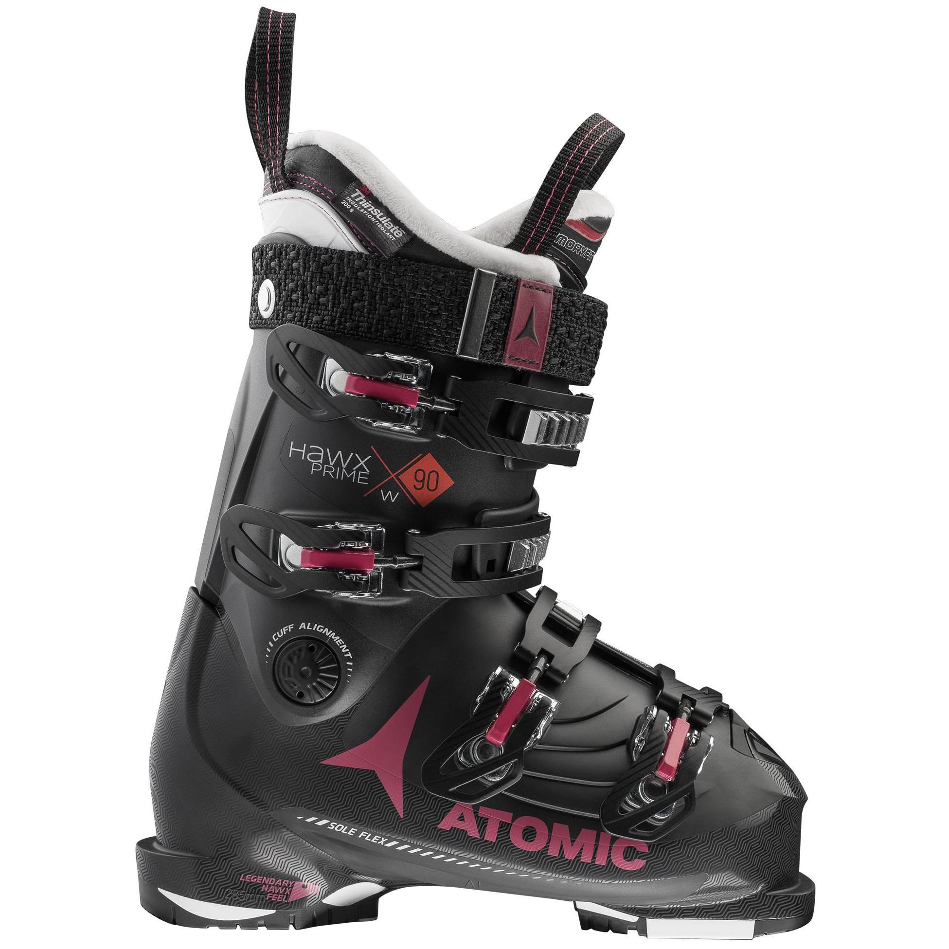 c2e6bcb3188b Горнолыжные ботинки Atomic 2018-19 HAWX PRIME 90 W Black Rust ...