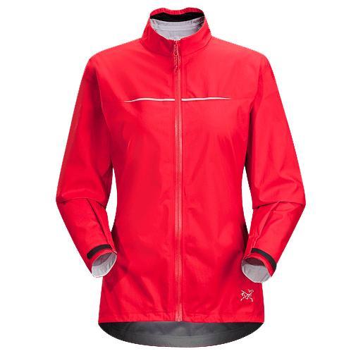 женская куртка arcteryx, красная
