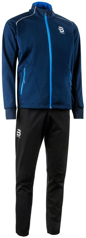Купить Комплект Беговой Bjorn Daehlie 2017-18 Suit Ridge Navy Blazer, мужской, Одежда для бега и фитнеса