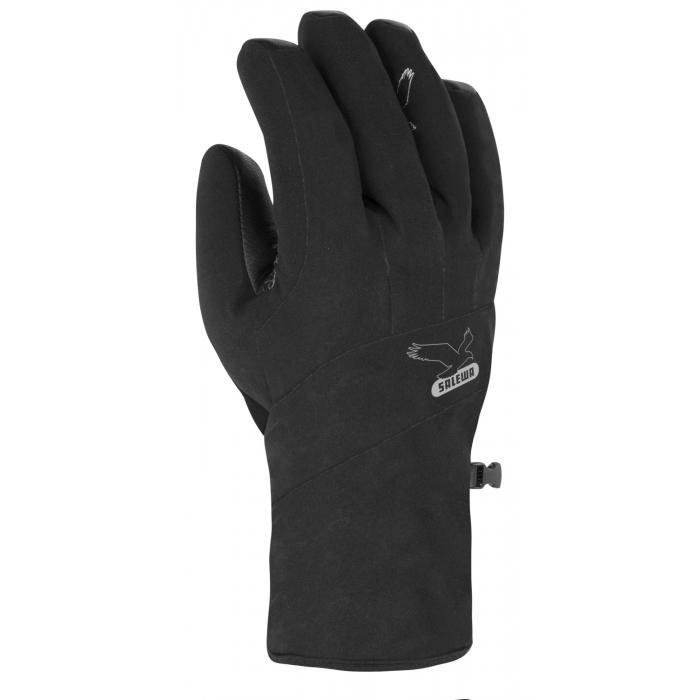 женские перчатки salewa, черные