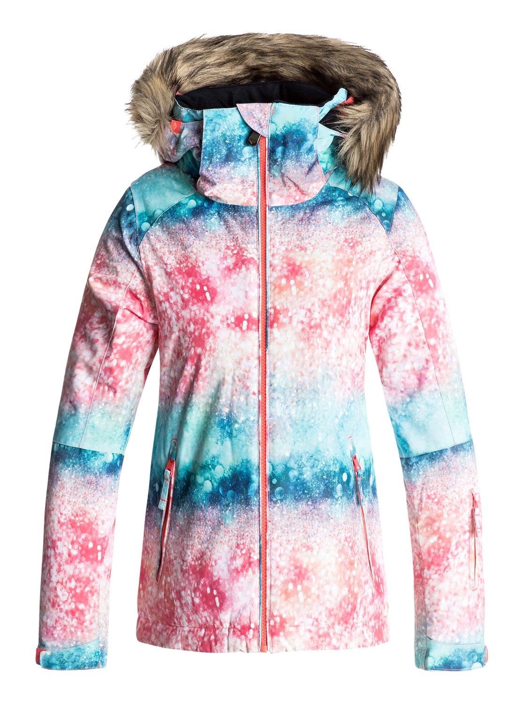 Купить Куртка сноубордическая ROXY 2017-18 JET SKI GIRL G SNJT NKN8 NEON GRAPEFRUIT_SOLARGRADIENT Одежда 1354409