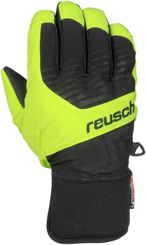 Купить Перчатки горные REUSCH 2017-18 Torbenius R-TEX XT Junior black/neon green, Перчатки, варежки, 1373861