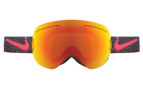 Купить Очки горнолыжные DRAGON APX Nike Grunge Collab (Red Ionized) 910477