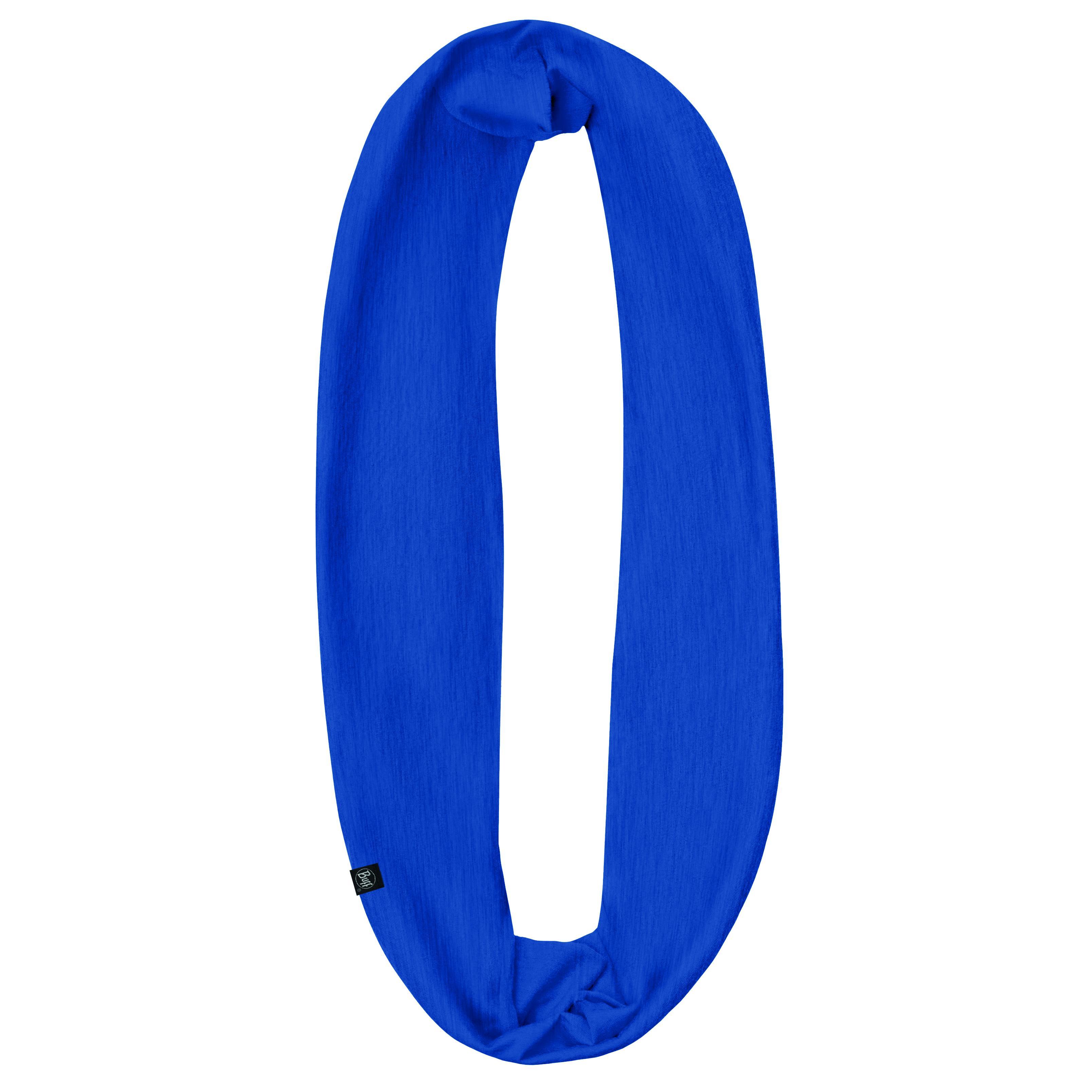 Шарф BUFF INFINITY SOLID MEDIEVAL BLUE Банданы и шарфы Buff ® 1312901  - купить со скидкой