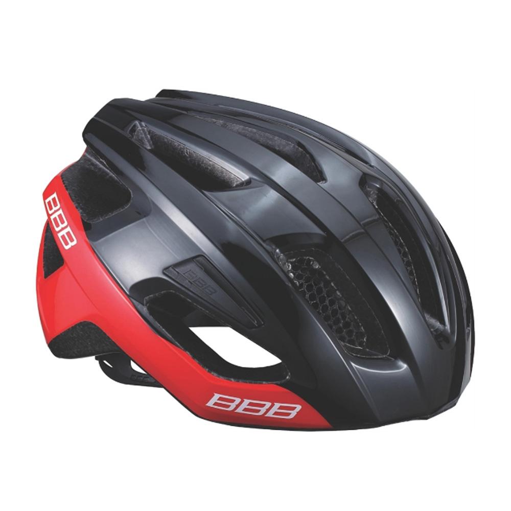 Купить Велошлем BBB 2018 Kite черный блестящий/красный, Шлемы велосипедные, 1298116