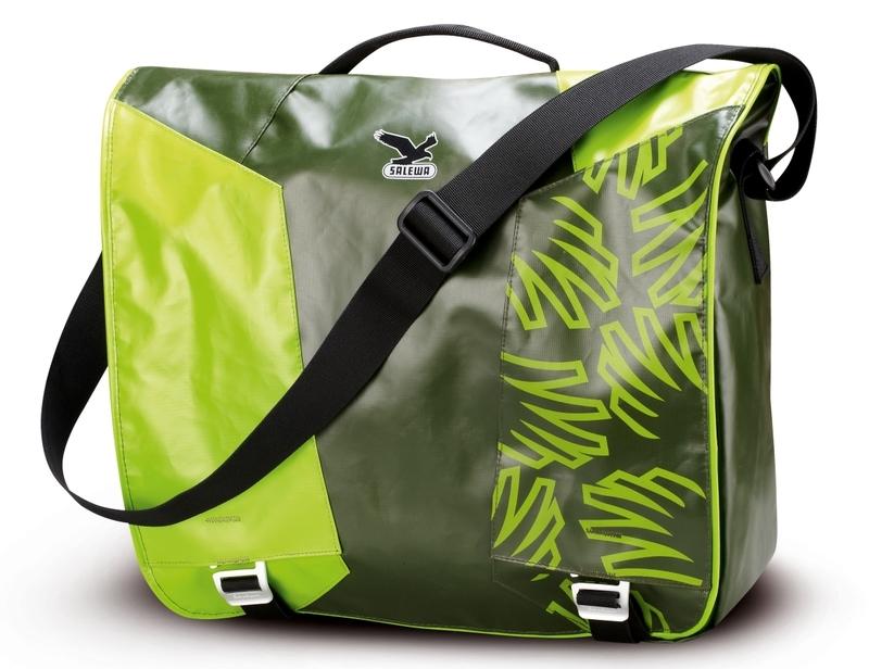 Купить Сумка Salewa Travel Spike Messenger Dark Green/green, унисекс, Сумки для города