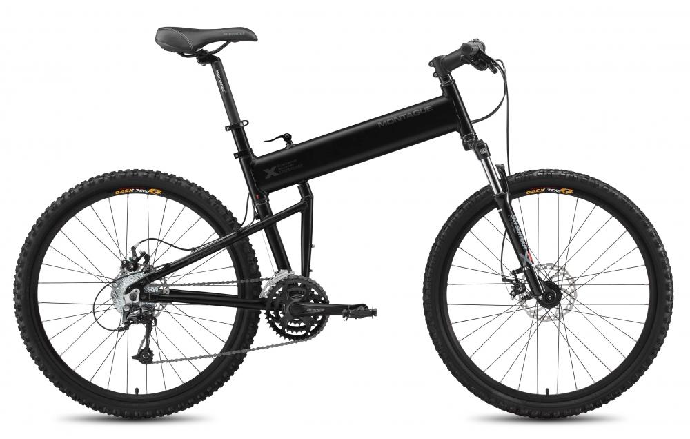 Велосипед Montague Paratrooper 2015 Черный Матовый
