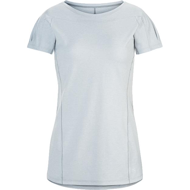 женская футболка arcteryx, серая