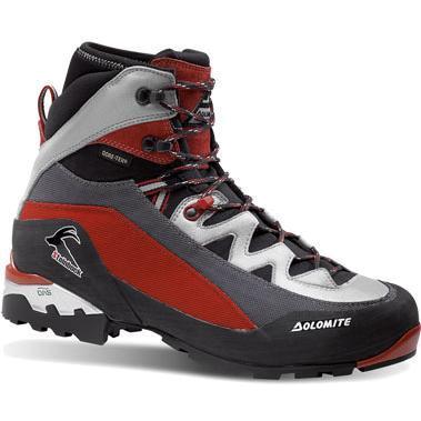 Купить Ботинки для треккинга (высокие) Dolomite STEINBOCK GTX RED-BLACK Треккинговая обувь 853281