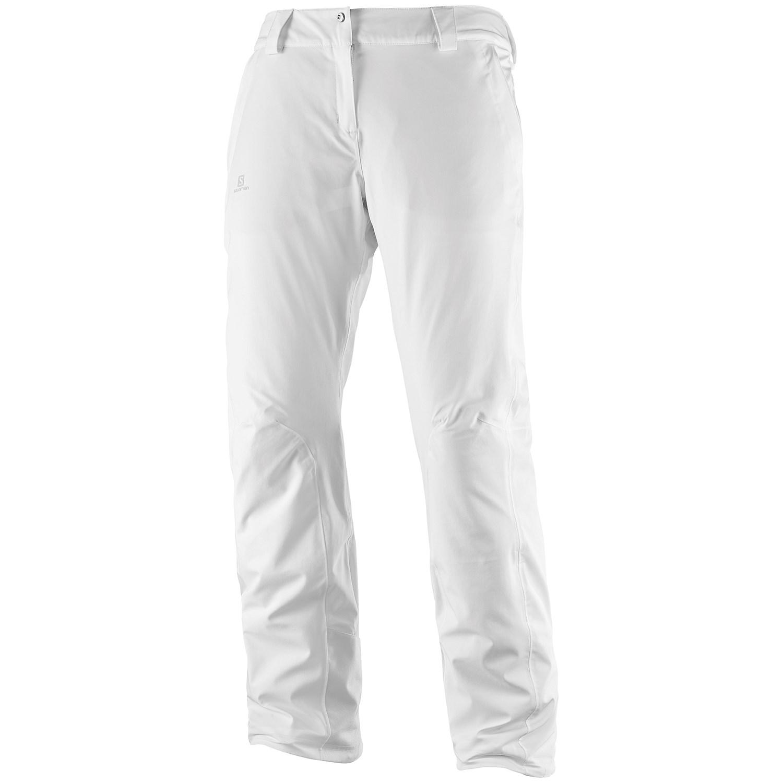 41de2cda3f331 Брюки горнолыжные SALOMON 2017-18 ICEMANIA PANT W White - купить в КАНТе