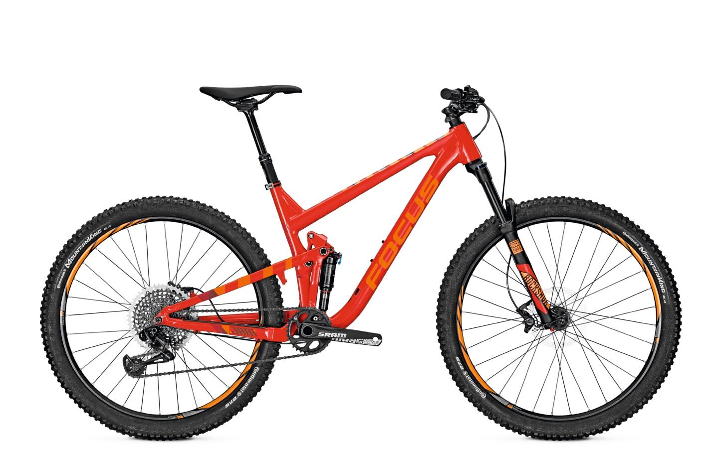 Велосипед Focus Jam Lite 2017 Red/orange